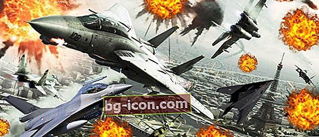 Topp 20 bästa stridsflygspel på Android och PC   Fri